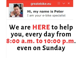 GREATEBIKE.EU online customer service - we are here for you 7 days a week!