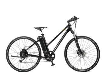 A touring e-bike designed with a high range for a smooth ride.  The BEST e-bike of the year in Germany's ExtraEnergy test.