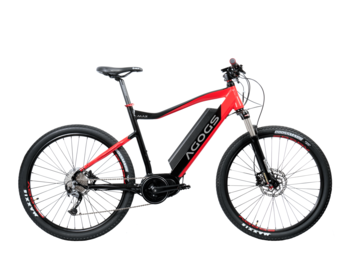 A mountain e-bike with a central motor and the maximum battery capacity available on the market!