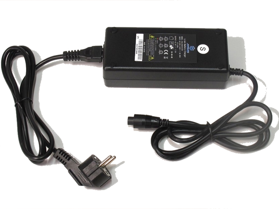 LEADER FOX 42V / 1,8A charger, 5 pin