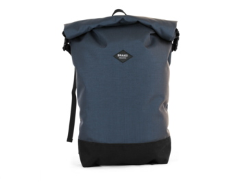 Modern waterproof backpack with side closure