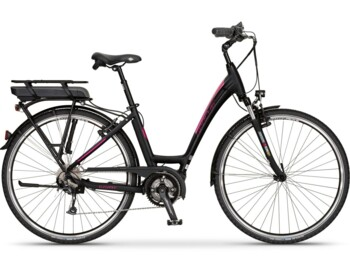 Really elegant woman's e-bike with Bosch central motor