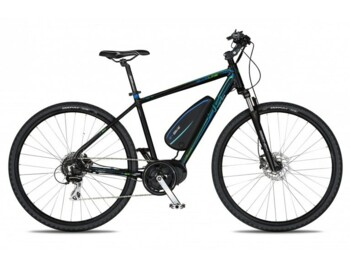 Cross e-bike with a Bafang MaxDrive motor with maximum power of 520W and torque up to 80Nm.