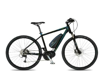 A cross e-bike with a Bafang MaxDrive motor, 520W of rated power and torque up to 80Nm.