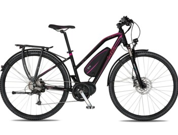 A trekking e-bike with a Bafang MaxDrive motor with a maximum power output of 520 W and a torque of up to 80 Nm.