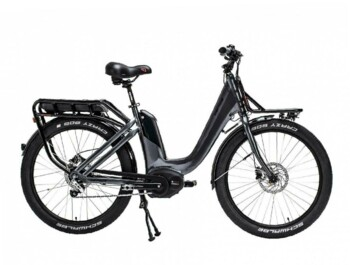 A Cargo electric bicycle designed for industrial use.
