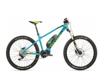 Mountain e-bike with Shimano central motor.   Free repairs in the first year, including battery check and formatting!