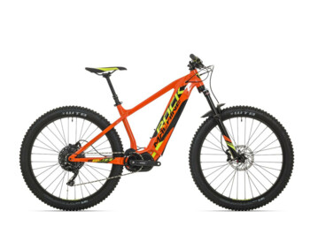 An eMTB with a Shimano Steps E8000 central motor with maximum torque of up to 70 Nm.