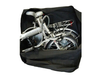 Ideal bag for folding e-bike for transport as well as for safe storage..
