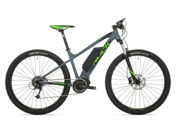 An eMTB with a Shimano Steps E6000 central motor and maximum torque up to 50Nm.