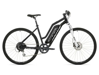 Trekking e-bike with Dapu rear motor and maximum torque up to 40Nm.