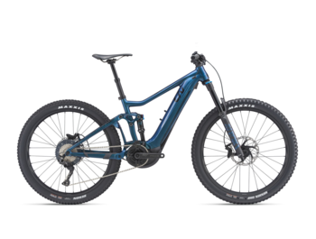 Full-suspension e-bike with a Yamaha SyncDrive Pro central drive system with a peak power of 800 W and maximum torque of up to 80 Nm.