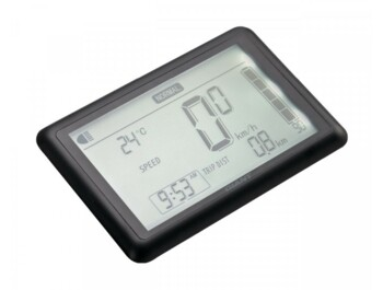 Simple and clear Bosch Intuvia display for Bosch Active motors.