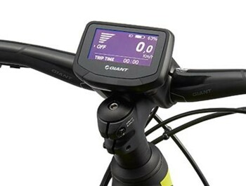 Display for an e-bikes with SyncDrive Pro central drive unit.