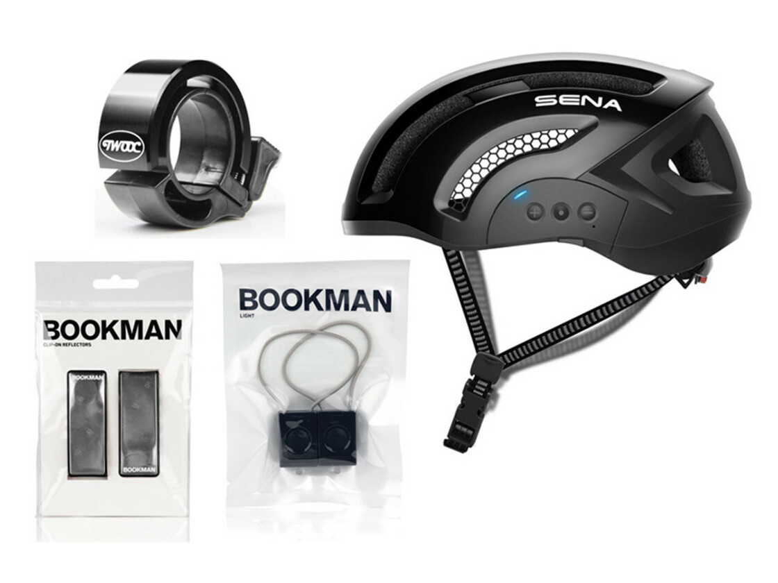 Smart helmet and stylish accessories