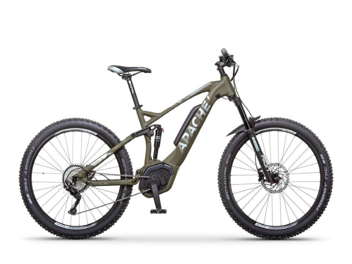 "APACHE Quruk CX 27.5"" 2020 - mountain e-bike - central motor Bosch Performance CX"