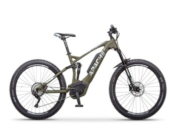 Full-suspension e-MTB with a Bosch Performance CX drive.