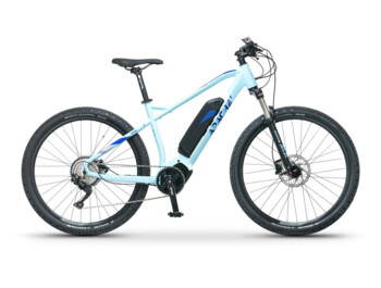 Lightweight women's e-bike with the Czech-Japanese Comp Drive C18, which provides a maximum torque up to 80Nm.