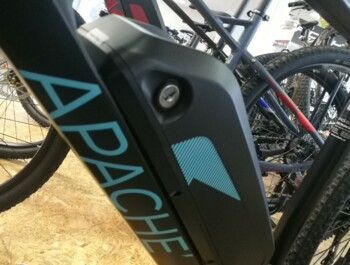 "APACHE Matto Comp 28"" 2020 - Travel ebike - Central drive - Comp C18"