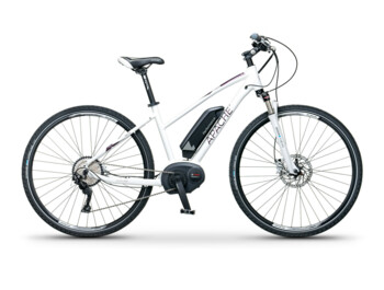 An e-MTB with a Bosch Performance CX motor, 600W of rated power and a torque up to 75 Nm.