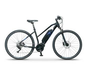 Cross e-bike with innovated Comp Drive C18, which provides a maximum torque up to 80 Nm and low weight.