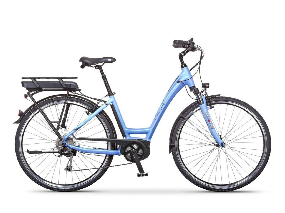 "APACHE Sota Bosch Active 500 28"" 2020 - Low-step urban e-bike - central motor BOSCH Active Line Plus"