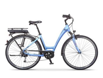Low-step e-bike with a Bosch active central motor, 420W of rated power and a torque up to 48Nm.