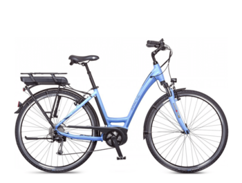 Low step e-bike with a Bosch active central motor, 420W of rated power and torque up to 48Nm.