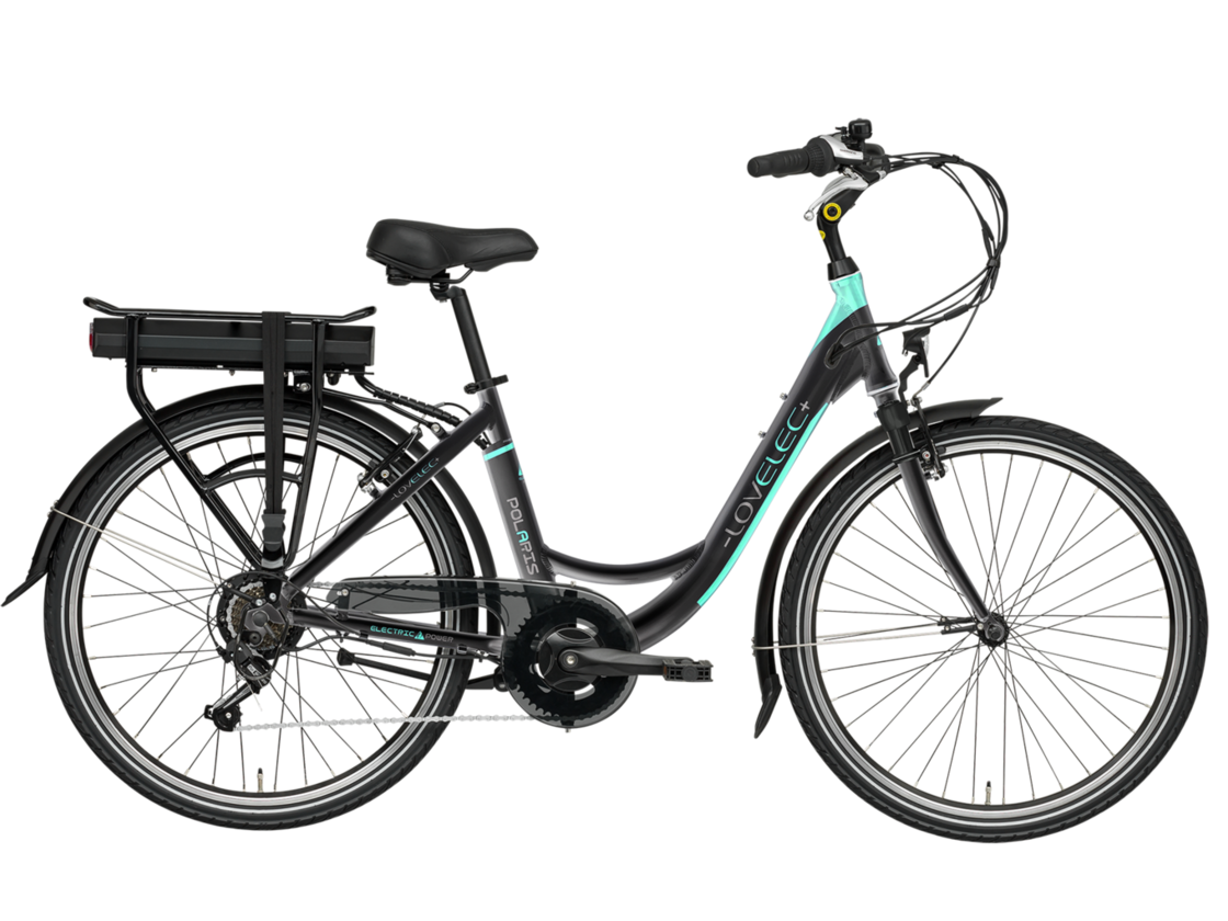 "Lovelec Polaris 26"" 2020 - city e-bike with rear drive"
