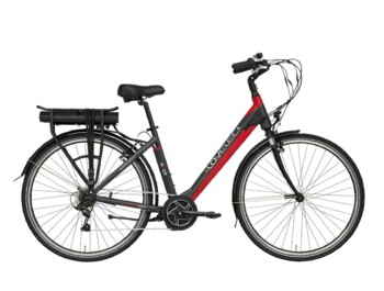 Urban e-bike with centre drive system.