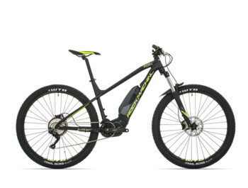 Trail e-bike Rock Machine Blizz e50 with central drive Shimano Steps E7000 and 60Nm of torque.