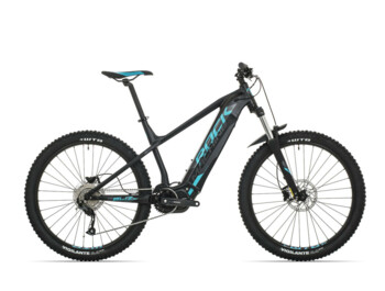 Trail e-bike Rock Machine Blizz INT e30 with Shimano Steps E8000 central drive and fully integrated battery.
