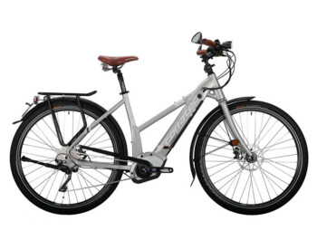 The model of e-bike with Bosch Performance Speed central motor.