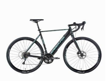 Very lightweight e-bike with central drive system hidden in the frame and integrated battery.