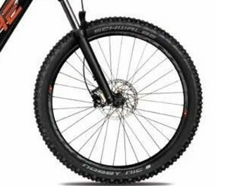 "Set of 27,5""+ MTB wheels for 4ever Ennyx 1."
