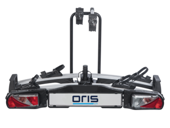 Oris Traveller II bicycle carrier for 2 bikes. Fully folding compact and easy to use bike carrier for all types of bicycles.