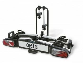 Oris Traveller II bicycle carrier for 2 bikes. Suitable for cars with extremely large rear doors, such as VW Transport, Sharan and more.