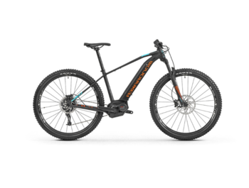 Hardtail e-bike with a Bosch Performance CX central motor and Sram GX deraileur.