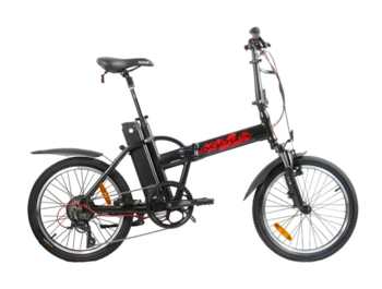 Speed ​​and agility - that's Barack. Top rated folding e-bike by riders.