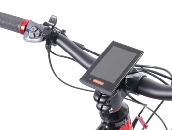AGOGS Max-R - eMTB with air suspension fork - Large color LCD display and 6 assistance levels controls