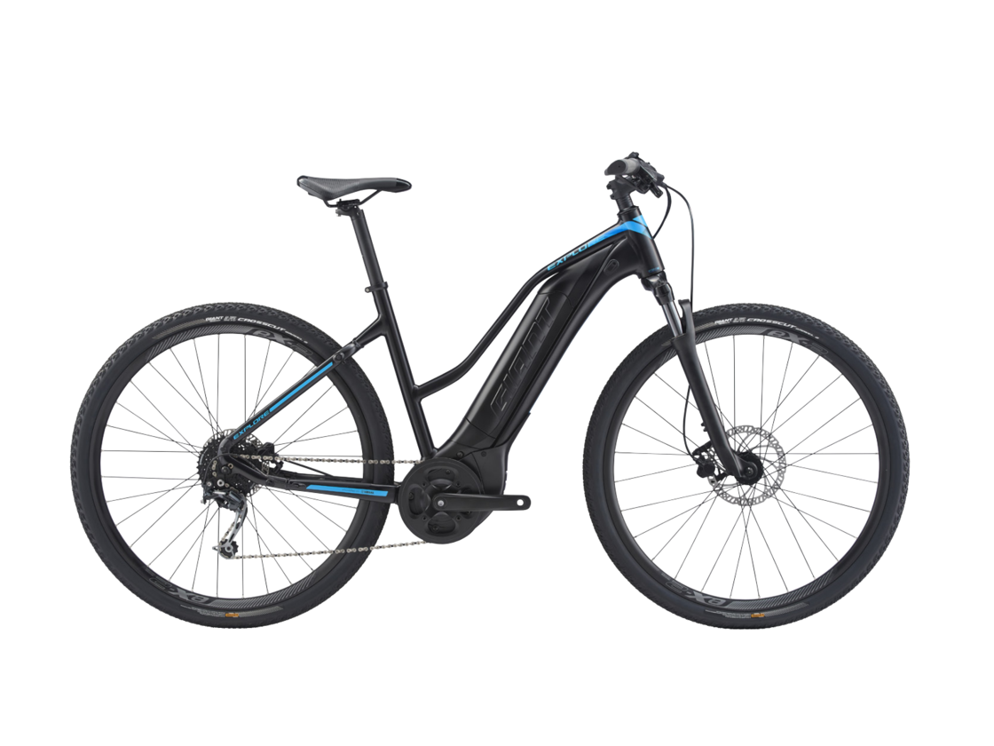 "GIANT EXPLORE E+ 4 28"" 2020 - ladies trekking e-bike - central motor Yamaha"