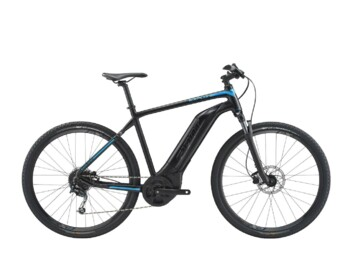An eMTB with a Yamaha SyncDrive Sport central drive system providing peak power of 750W and maximum torque of up to 80Nm.