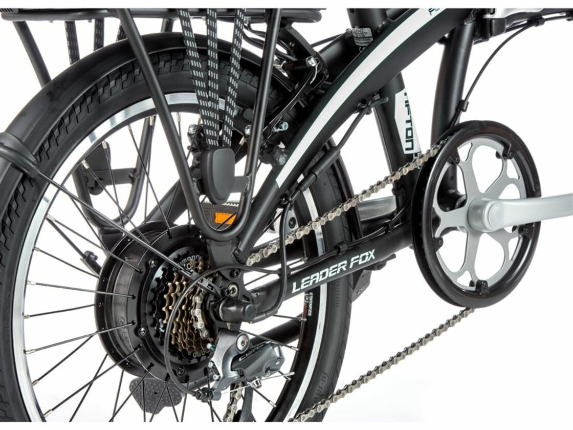 "LEADER FOX Tifton 20"" 2020 - folding e-bike - rear motor Bafang"