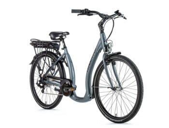 "Urban electric bike HOLAND 2020 with elegant design, solid fork, 26 ""wheels and specially modified frame for very comfortable boarding."