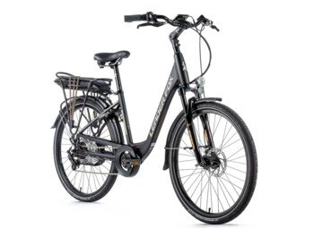 "Easy-to-use urban e-bike from the Czech manufacturer with 26"" wheels."