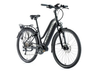 "Lucas 2020 trekking electric bike with aluminium frame, sporty design and 28"" wheel."