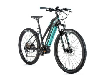 Mountain ebike with central engine and large battery.