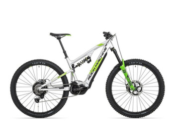A top e-MTB from Rock Machine.