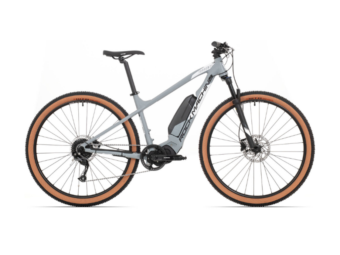 "ROCK MACHINE Torrent e30-29 - 29 ""mountain bike equipped for comfortable riding - Shimano Steps E5000 center engine"