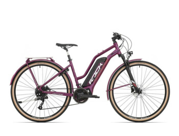 A women's touring e-bike with a Sport Drive MD250 rear motor providing torque of up to 90Nm.